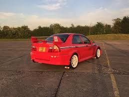 mitsubishi evo red used 2000 mitsubishi lancer evolution vii for sale in abingdon