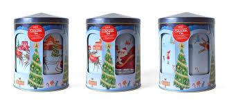 christmas tins m s christmas biscuit tins on behance