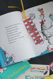 seuss bookmark and reading log printable the country chic cottage