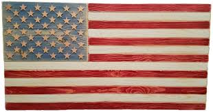 american flag wall american wooden flags