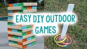 How To Make Backyard Jenga by Diy Outdoor Game Ideas Tanner U0026 Courtney Youtube