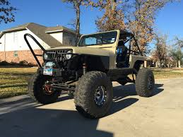 lexus v8 rock crawler 1992 jeep wrangler yj custom rock crawler street legal for sale in
