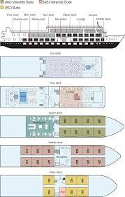 cruise ship floor plans viking ra