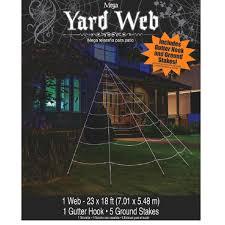 amazon com mega yard spider web halloween decor patio lawn