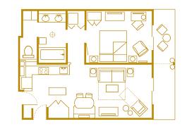 animal kingdom 2 bedroom villa floor plan disney s animal kingdom villas kidani village walt disney world