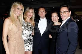 Robert Downey Jr Vanity Fair Pictures Of Cameron Diaz Jude Law And Gwyneth Paltrow At Vanity