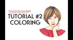 tutorial vector c coloring 2 vector vexel art tutorial youtube