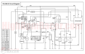 90cc chinese atv wiring diagram sunl 4 wheeler wiring diagram