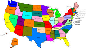map of usa map usa with all names major tourist attractions maps