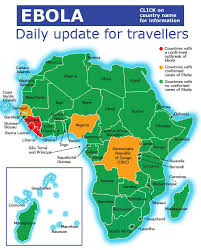 west africa map ebola ebola update is south africa safe to visit wings safaris