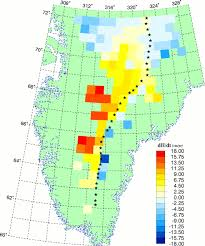 Umkc Campus Map Elevation Change Of The Southern Greenland Ice Sheet Science