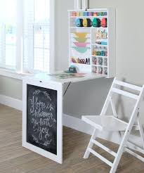 Craft Table Desk Fold Down Craft Table Craft Desk Storage Ideas Recollections Craft