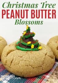 peanut christmas tree christmas tree cookies recipe christmas tree peanut butter blossoms