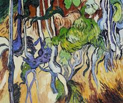 tree roots and tree trunks by vincent van gogh pb 096 123 20