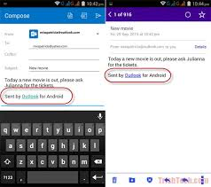 android outlook app change message signatures in outlook app for android