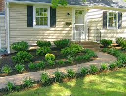 landscape new landscaping ideas for front of house simple