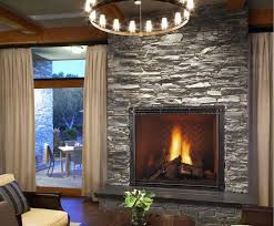 modern ideas fireplace rocks fireplaces with glass rocks