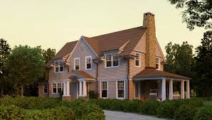 fawn lake shingle style home plans by david neff architect