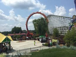 Where Is Six Flags America Bourbon Street Fireball At Six Flags America Theme Park Archive