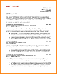 Resume Synopsis Example by Apa Executive Summary Template Virtren Com
