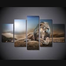 aliexpress com buy atfipan hd printed animals lion canvas