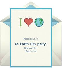 email invitations free email invitations earth day