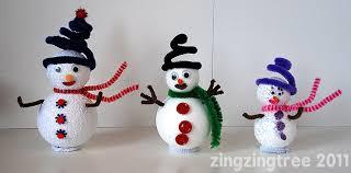 snowman decorations sparkly snowman decorations