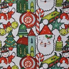 vintage christmas reindeer wrapping paper holiday pinterest