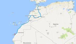 Std Map Eine Reise Rund Um Afrika Teil 1 Marokko