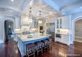 large gourmet kitchen house plans homes zone