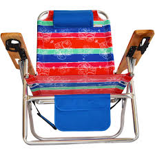 Big Beach Chair Titan Big Fish Hi Seat Aluminum Folding Beach Chair Maui Stripe