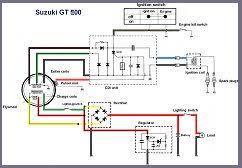 suzuki gt500 wiring diagram suzuki wiring diagrams instruction