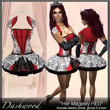 Halloween Costume Sale Marketplace Red Queen Hearts Costume Sale
