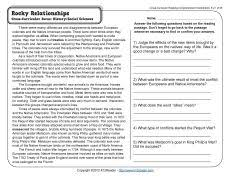 reading comprehension worksheets grade 5 free worksheets library
