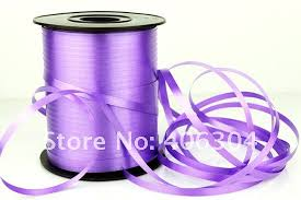 plastic ribbon free shipping plastic ribbon tie the ballons gift ribbon pink