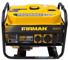 firman p03607 portable generator 3650 4550 watt gas powered u0026 carb