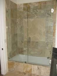 bath door glass make your bathtub do double duty as a shower but without an