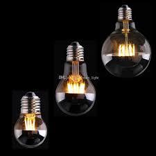 best sliver mirror 4w 6w 8w g45 a19 g95 globe led filament bulb