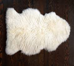 Bare Skin Rug Sheepskin Rug Pottery Barn