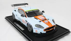 gulf racing 2008 gulf racing aston martin dbr9 le mans by amalgam collection