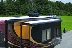 Awnings For Rv Slide Outs Rv Slide Out Awnings U0026 Carefree Slide Toppers Shadepro Net