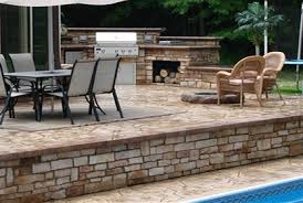 Patio Concrete Designs Concrete Patio Ideas Pictures Cost 2016 Design Plans