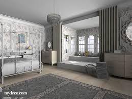 vintage bedroom serves both of vintage and modern style bedroom