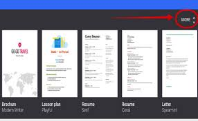 docs brochure template docs phlet template best business template
