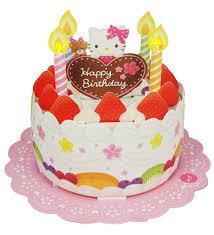 new hello kitty cute happy birthday cake lights u0026 melody card