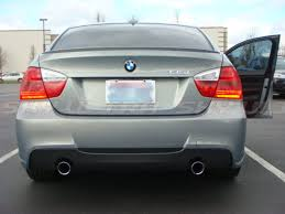 painted bmw e90 3 series m3 type rear trunk spoiler wing 11 abs