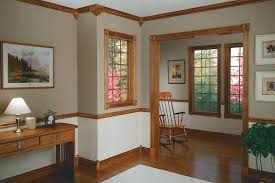 Bathroom Molding Ideas Colors Stained Trim Trim Pinterest Stained Trim Chair Rail Molding