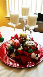 Xmas Table Decorations by Diy Christmas Wine Glass Table Centerpieces Youtube