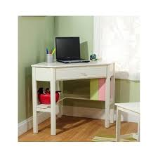 Antique Home Office Furniture by Corner Computer Desk White Wood Antique Finish Perfect For Kids