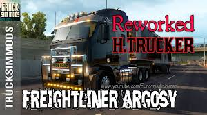 freightliner freightliner argosy reworked v 2 2 for ats 1 3 by h trucker mod